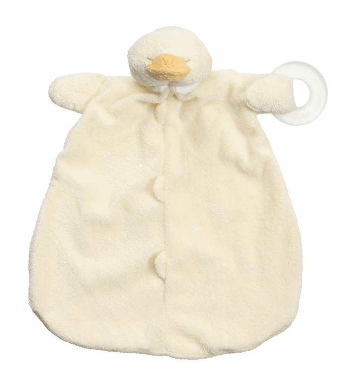 Angel Dear Ducky Teether Blankie Personalized
