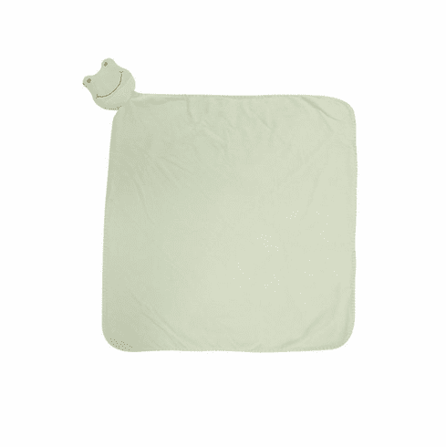 Angel Dear Froggy Personalized Napping Blankie