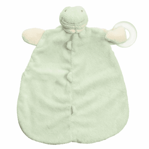 Angel Dear Froggy Teether Blankie Personalized