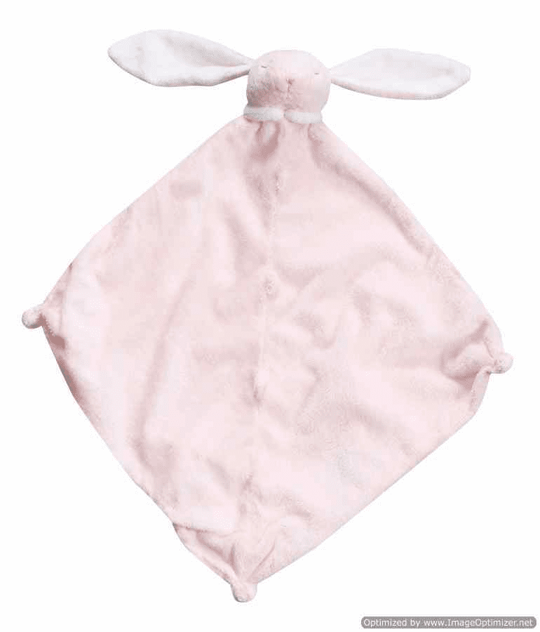 Angel Dear NEW Pink Bunny Personalized Blankie
