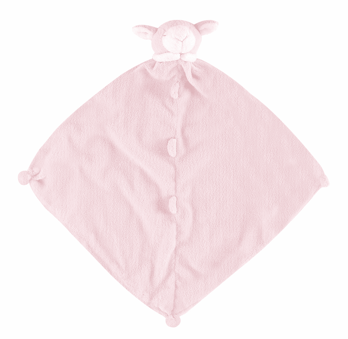 Angel Dear Pink Lamb Personalized Blankie