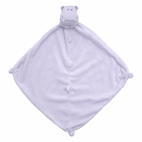 Angel Dear Purple Hippo Personalized Blankie