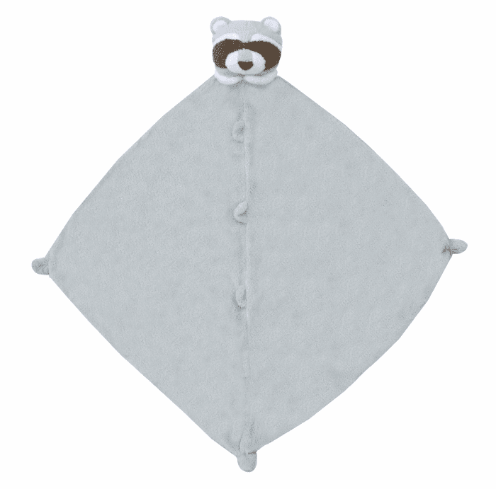 Angel Dear Raccoon Personalized Blankie