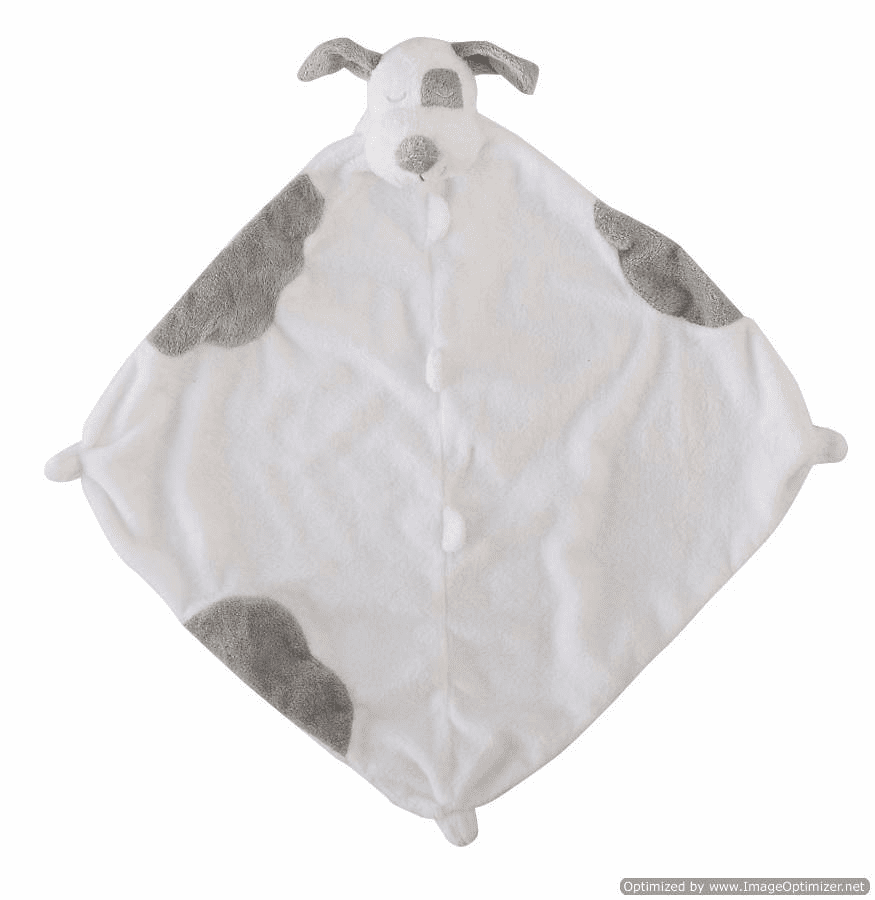 Angel Dear Spotted Puppy Personalized Blankie