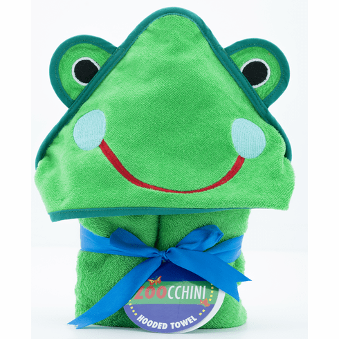 BABY Fritz the Frog Personalized Hooded Towel