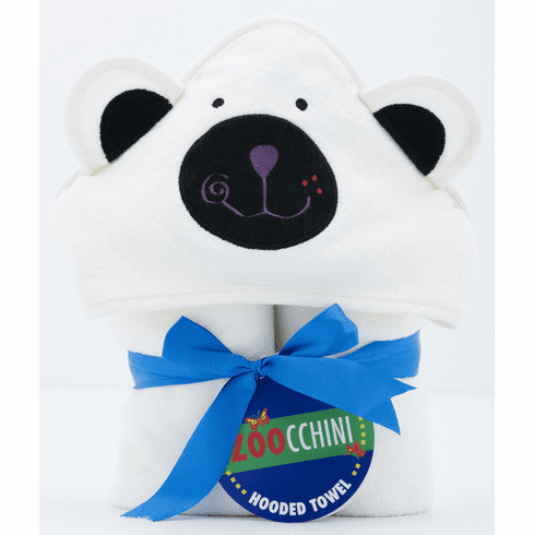 BABY Kemo the Polar Bear Personalized Hooded Towel