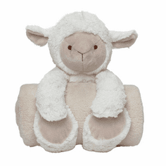Bedtime Huggie Lamb and Blanket