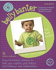 Belly Banter Holiday Sticker Set