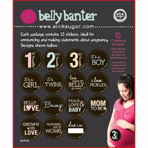 Belly Banter Mom-To-Be Stickers