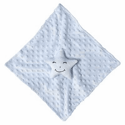 Blue Star Blanket Personalized