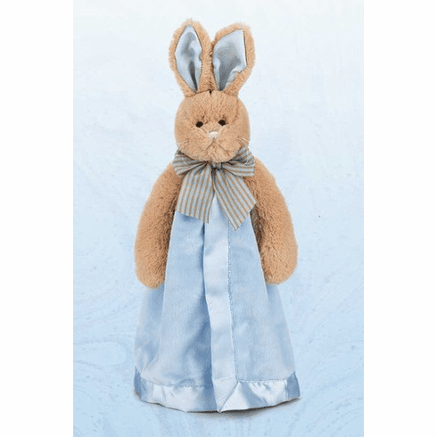 Bunny Tails Blue Personalized Snuggler