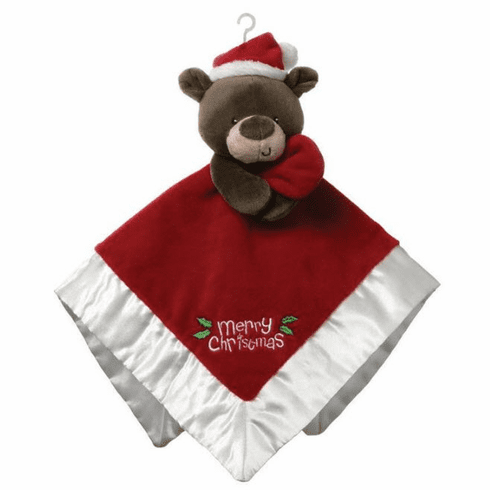 Christmas Bear Lovey Personalized