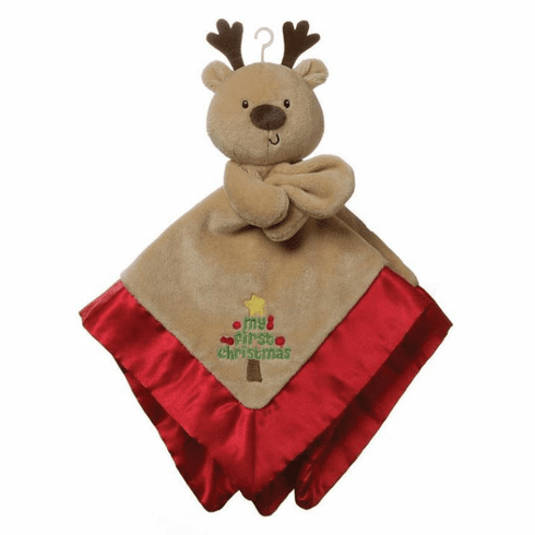 Christmas Reindeer Lovey Personalized