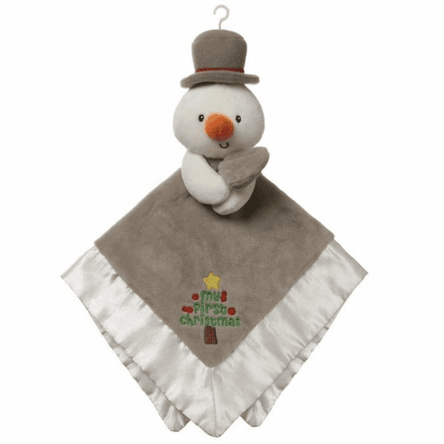 Christmas Snowman Lovey Personalized