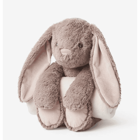 Bedtime Brown Bunny and Blanket