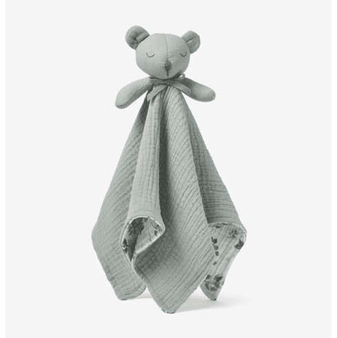 Coming Soon - Light Sage Bear Organic Security Blanket