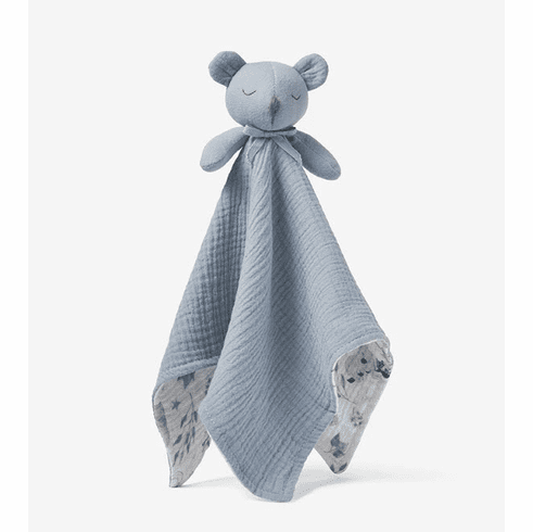 Coming Soon - Stone Blue Bear Organic Security Blanket
