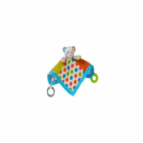 Confetti Teddy Activity Blanket
