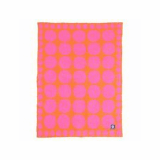 Connect the Dots Fuchsia Stroller Blanket