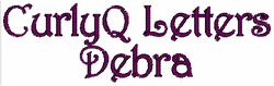 Curly Q Letters