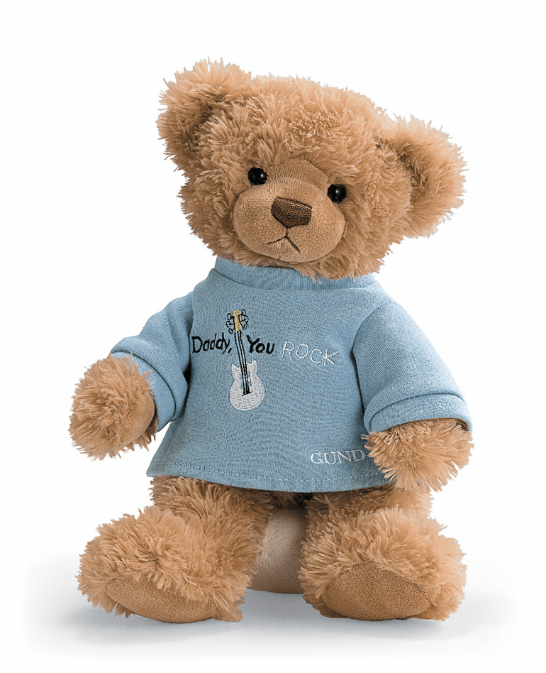 Daddy You Rock  Father's Day Bear Personalized