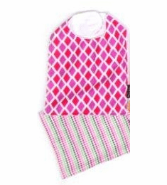 Delightful Doll Bib and Burp Combo Pack