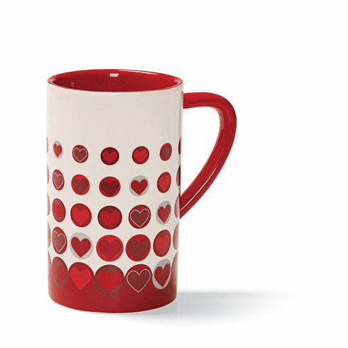 Dots of Love Stoneware Mug by Gund