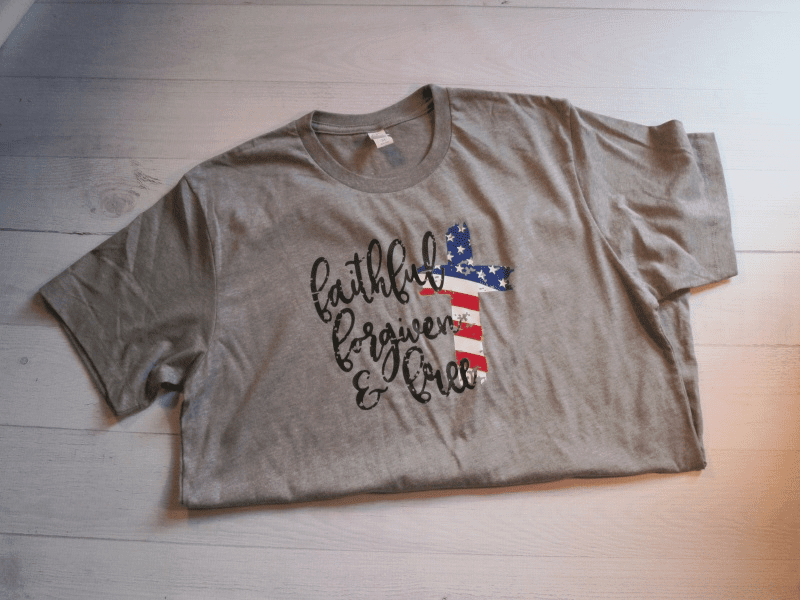 Faithful, Forgiven, Free T-Shirt