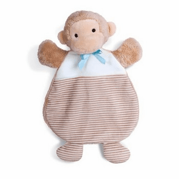 First Friends Monkey Cozy Blue Personalized