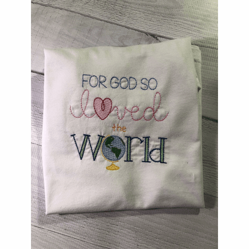 For God So Loved the World Child's T-Shirt