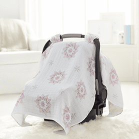 For The Birds Medallion Car Seat Canopy