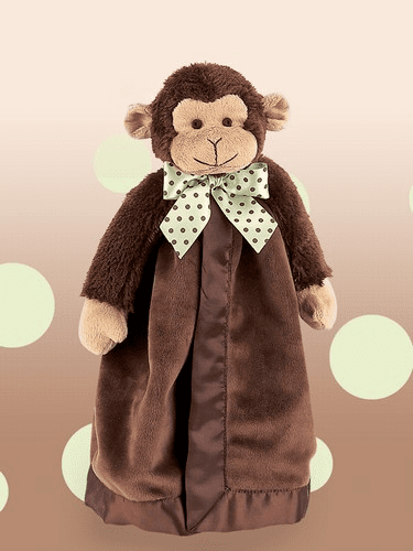 Giggles Monkey Snuggler Personalized