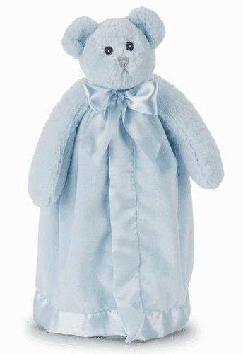 Huggie Bear Blue Personalized Blanket