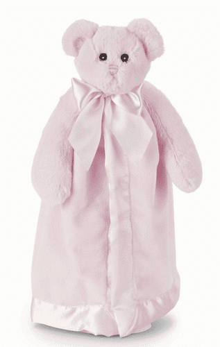 Huggie Bear Pink Personalized Blanket