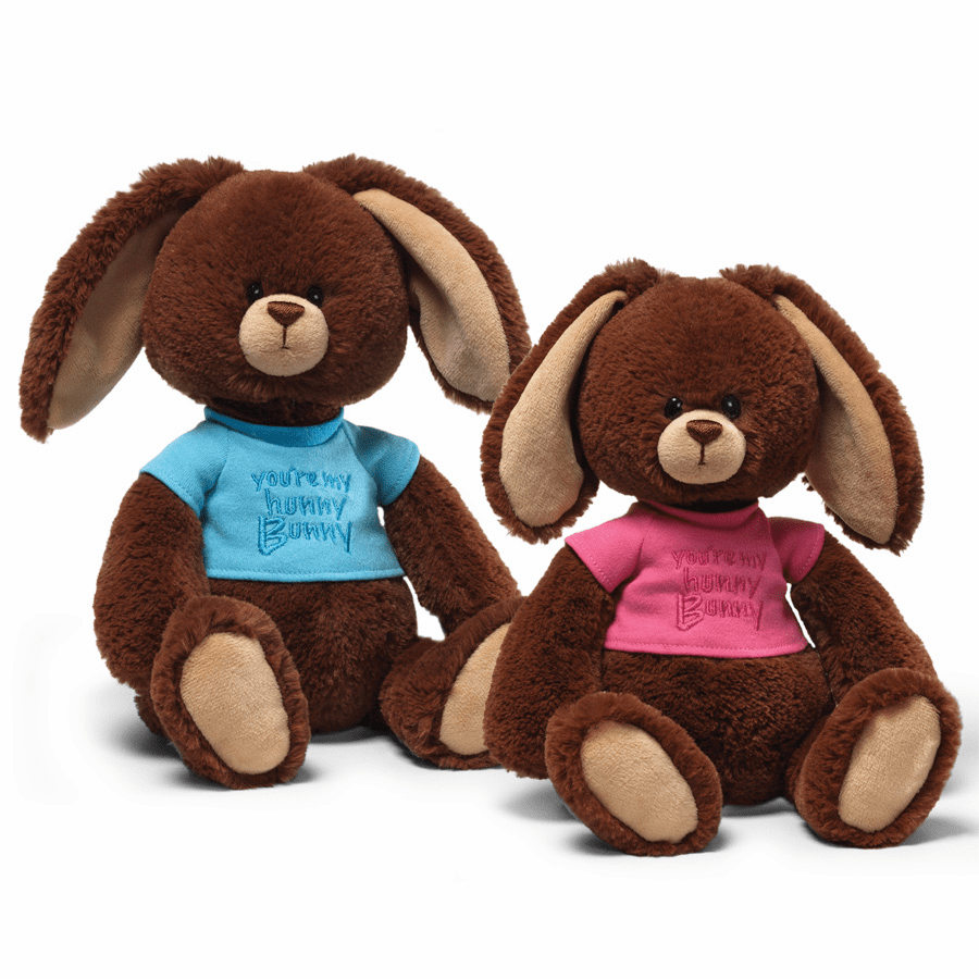Hunny Bunny Pink by Gund Personalized
