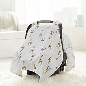 Jungle Jam Giraffe Car Seat Canopy