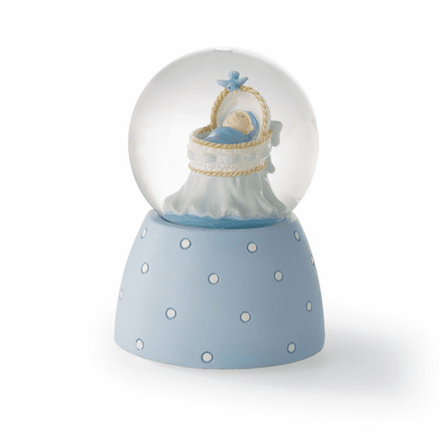 Just Because Baby Boy Musical Waterglobe