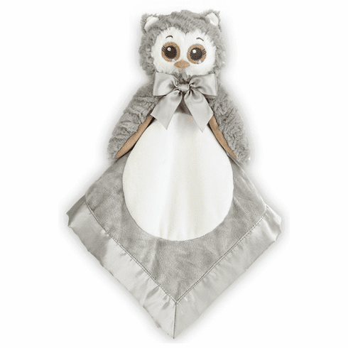 Lil Owlie Snuggler Blanket Personalized