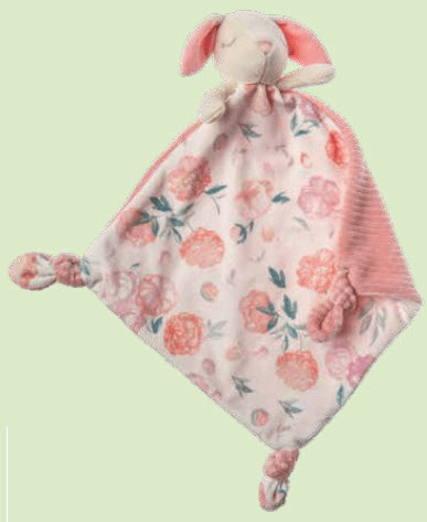 Little Knotty Bunny Blanket Personalized
