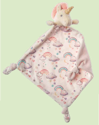 Little Knotty Unicorn Blanket Personalized