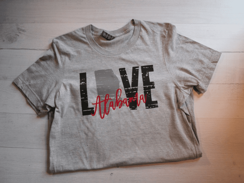 Love Alabama T-Shirt