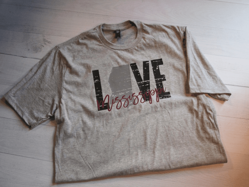 Love Mississippi T-Shirt