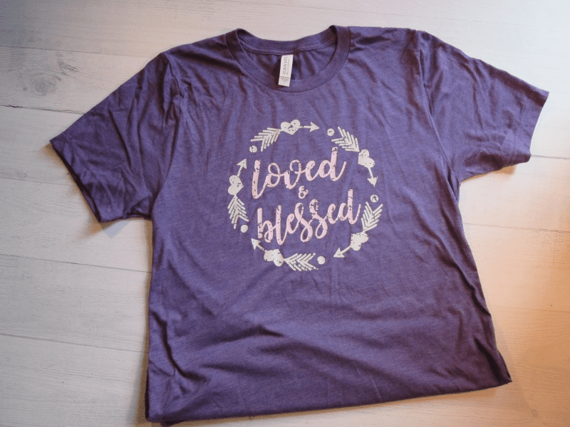 Loved and Blessed T-Shirt
