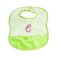 Mint Personalized Baby Bibs
