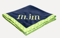 Mint Personalized Baby Blankets