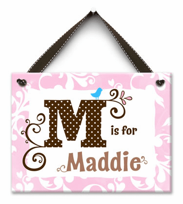 Monogram Me Personalized Wall Tile