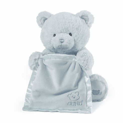 My First Teddy Peek A Boo Bear Blue