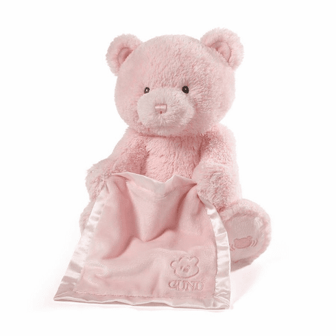 My First Teddy Peek A Boo Bear Pink