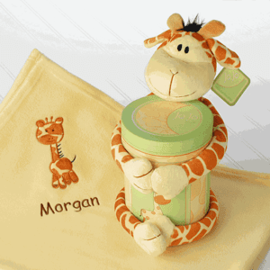 MyEmbroideredGifts.com Adding New Personalized Embroidered Baby Gifts