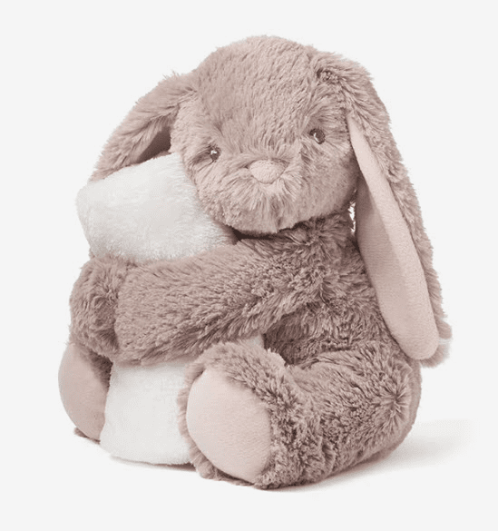 Naptime Bunny with Lovie Personalized